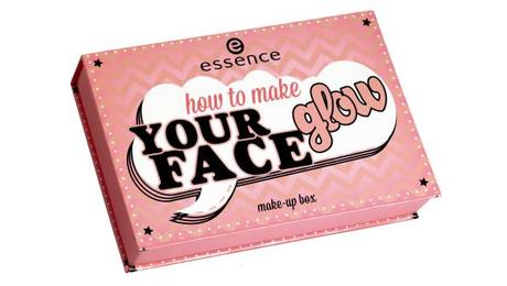 essence Sortimentswechsel Frühling Sommer 2015 – Neuheiten essence how to make your face glow make-up box