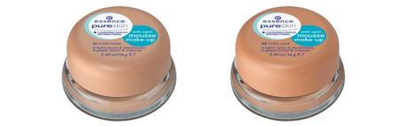 essence Sortimentswechsel Frühling Sommer 2015 – Neuheiten essence pure skin anti-spot mousse make-up