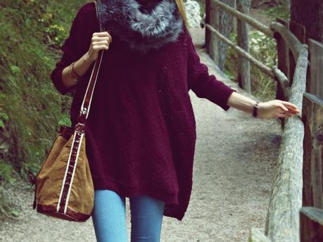 Outfit: Indie Bag & Red Wine Lips