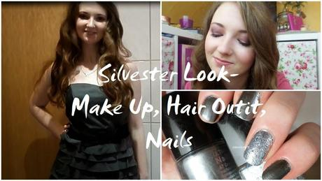 Silvester Look-Make Up, Hair, Outfit & Nails -Video ♥