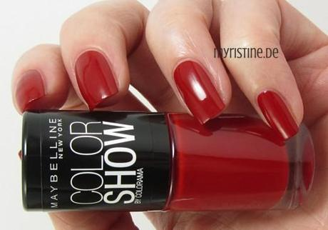 Red (MAYBELLINE, Color Show Nail Lacquer)
