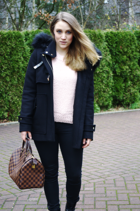 Outfit Speedy30 Louis Vuitton Zara Coat Mantel Winter