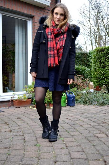 Outfit Caridgan Cozy Zara Coat Mantel