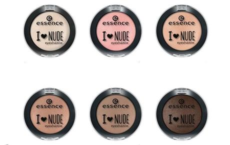 Neue essence TE I love nude Februar 2015 - eyeshadow