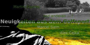 Hallo 2015! Hallo Ihr Leser & Golfer!