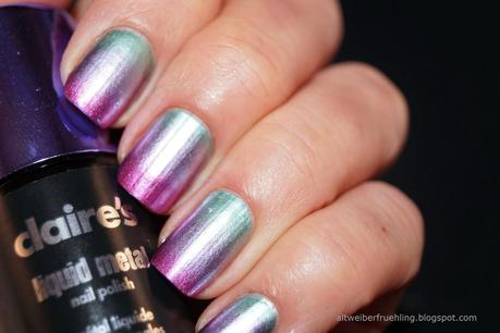 Claire's Liquid Metal Reloaded - Gradient und Stamping