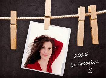 Happy New Year: be creative