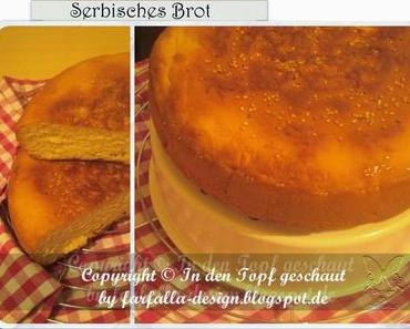 In den Topf geschaut * Serbisch Brot im Multikocher
