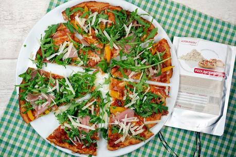 [Low Carb] Pizza Backmischung von Konzelmann's - nu3.de
