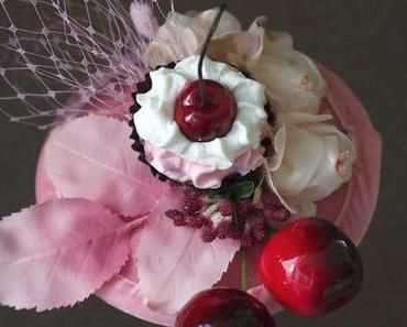 Cherry Cup Cake Headpiece by Jazzafine & a Pin Up Shooting