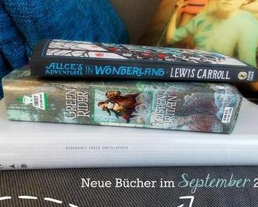 |Neu eingezogen| Im September 2014 oder Geburtstagsbücher. Yay.