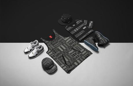 Tank BHM, True Snapback BHM, Air Force 1 Duckboot BHM & AW84 Hat BHM , Foto: Nike