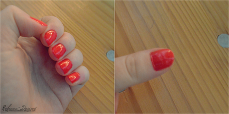 Nagellack von Essence [Nr.01 naughty or nice?-red]