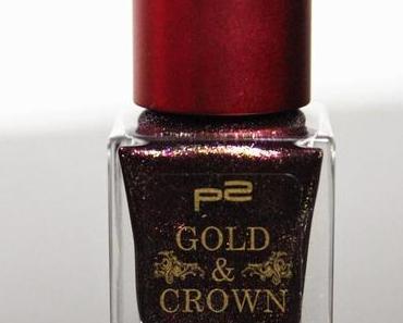 "p2 ""Gold & Crown"" LE Rich + Royal Nail Polish"