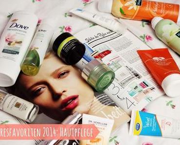 Jahresfavoriten 2014 - Teil 2: Hautpflege
