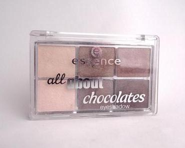 "[Review] essence all about chocolates eyeshadow palette  05 ""Chocolates"""