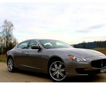 Maserati Quattroporte Diesel: Spiel mit der Vernunft