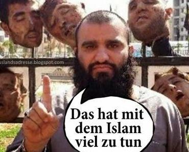 Das hat viel mit dem Islam zu tun