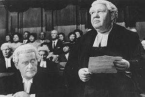 """Zeugin der Anklage"" / ""Witness for the Prosecution"" [USA 1957]"