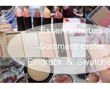 Essence Event Köln, Swatches und erste Eindrücke! Lippen, Teint, Parfüm Teil 1 ♥