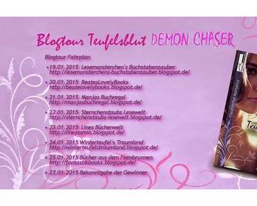 """[Blogtour] Blogtour """"Teufelsblut Demon Chaser"""" von Sara Hill - Charaktervorstellung"""