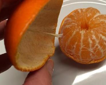 Januarloch-Spartipp: Öl-Kerzen aus Mandarinen (oder Orangen)