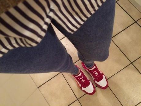 Outfit: New Sneakers