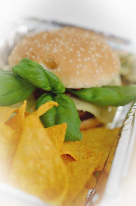 food diary : veggie burger