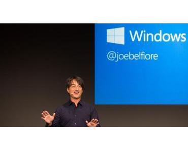 """""""The Next Chapter"""" – Microsoft enthüllt Details zu Windows 10"""