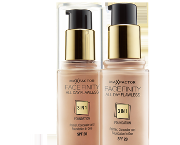 A butterfly: Review Max Factor Face Finity All Day Flawless 3 in 1 Foundation (Without a spot!)