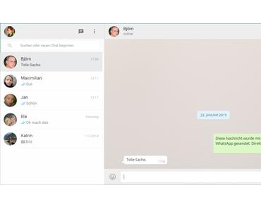 WhatsApp am PC nutzen – so gehts