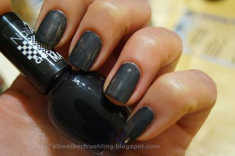 [Mottomonat] Matt Distressed - Grunge Nails - Step by Step
