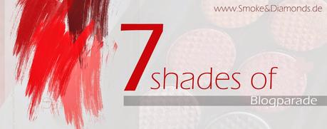 A butterfly: (Blogparade) 7 shades of red