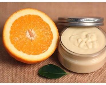 Selbstgemachte Orangen-Körperbutter /Homemande Orange Whipped Body Butter
