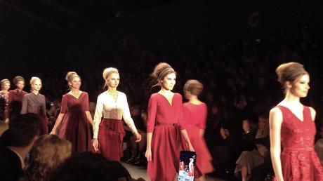 Final Walk Lena Hoschek Fashion Week Berlin