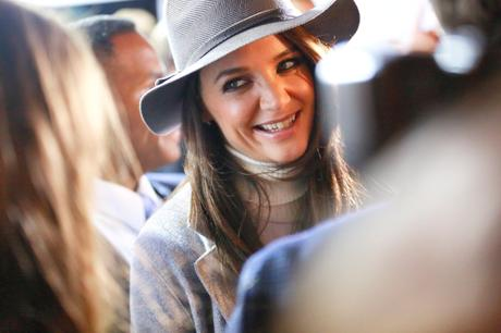Katie Holmes at Marc Cain Fashion Week Berlin