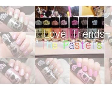 "Essence I ♥ Trends ""The Pastels"" Tragebilder aller Lacke ♥"