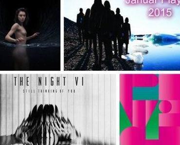 Playlist: Die erste des Jahres mit Jessica93, The Night VI, The Districts, Archive, Frankie Cosmos etc.