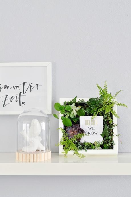 nachmachtipp bepflanzte bilder f r die wand. Black Bedroom Furniture Sets. Home Design Ideas
