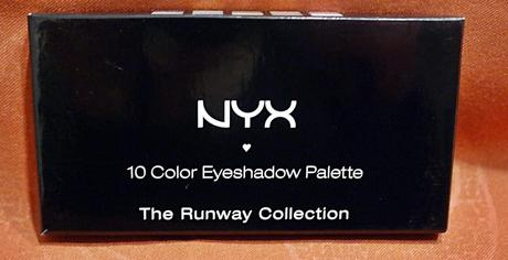 nyx eyeshadow palette the runway collection. Black Bedroom Furniture Sets. Home Design Ideas