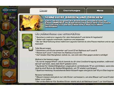 3 erfolgreiche CoC Angriffstaktiken mit Drachen und Barbaren