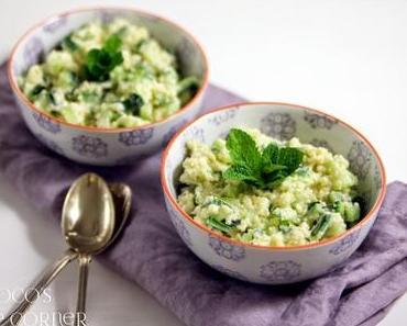 Couscous Salat mit Gurke und Minze - eine Eingebung wird umgesetzt