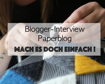 Das Blogger-Interview von Paperblog und ein fröhliches Fräulein Coquetterie