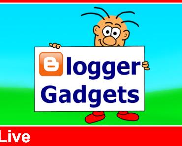 LIVE-Workshop: So baust du Gadgets in deinen Blog ein