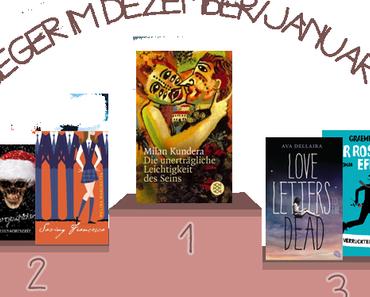 ¡Siegertreppchen!: Dezember 2014 und Januar 2015