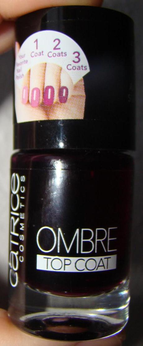 Catrice C01 COLOUR OF CHANGE Ombre Top Coat