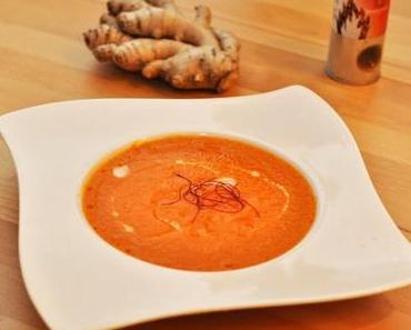 Scharfe Paprika-Fenchel-Suppe