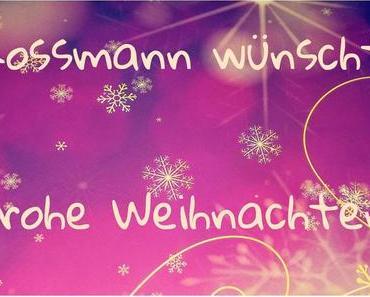 Weihnachtspaket von Rossmann   Unboxing