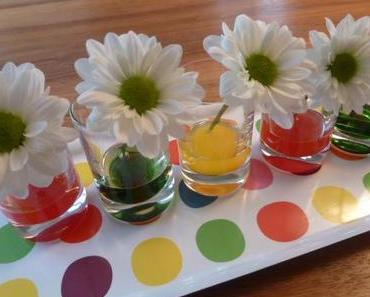 Zweiter Versuch: Experiment Tulpen färben