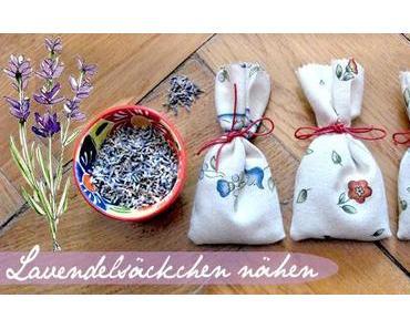 [Nähanleitung] Lavendelsäckchen aus Stoff nähen
